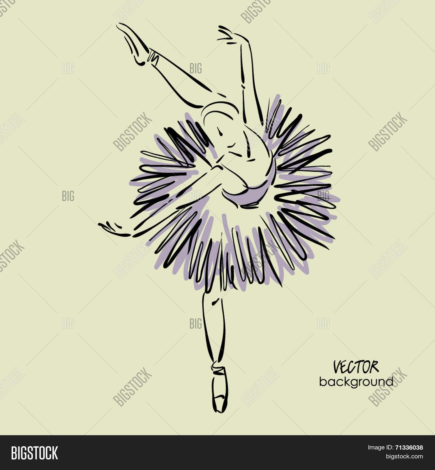 Art Sketch Beautiful Vector & Photo (Free Trial) | Bigstock