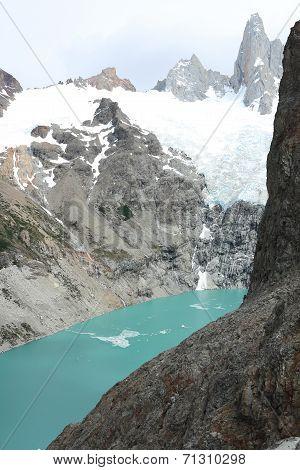 Lake and Glacier in Los Glaciares National Park