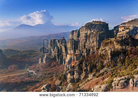 The Monastery of Rousanou, Greece