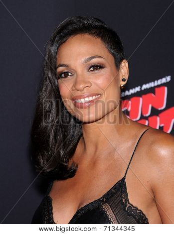 LOS ANGELES - AUG 19:  Rosario Dawson arrives to the