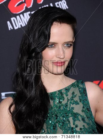 LOS ANGELES - AUG 19:  Eva Green arrives to the