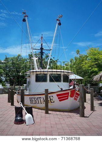 Shrimping Boat Heritage
