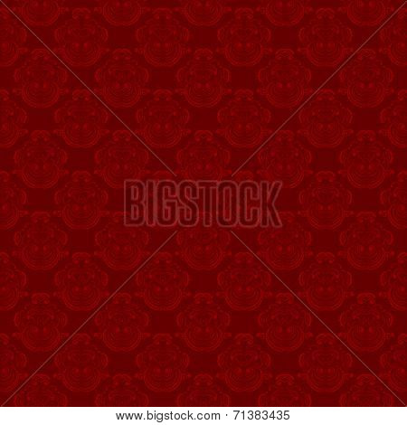 color seamless tileable red background pattern . vector illustration poster