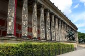 The Altes Museum (Old Museum) on Museum Island in Berlin, Germany poster