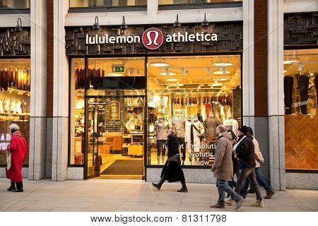 lululemon athletica London