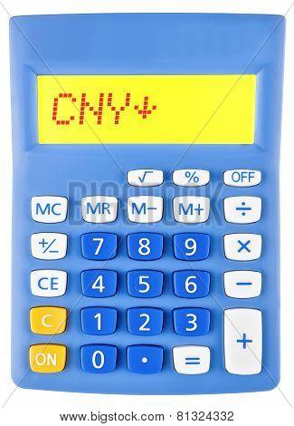 Calculator With Cny