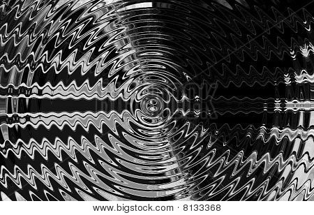 ripple silver abstract