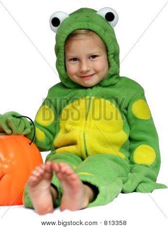 Frog & Pumpkin