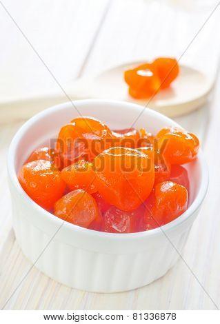 dry tangerines