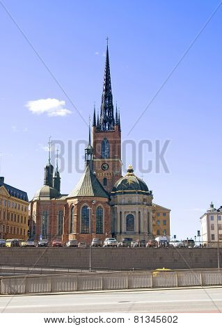 Stockholm. Sweden. Riddarholmen Church