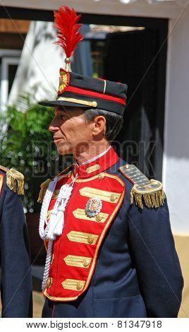 Forebearer in procession, Marbella.