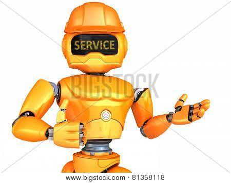Robot-repairman