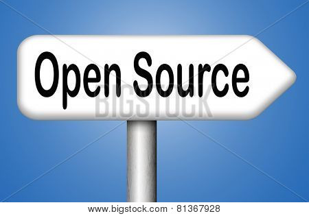 open source program software program or economy freeware internet data computer sharing