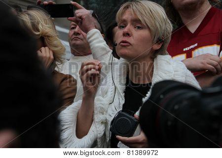 Emotional Speech Of The Ecologist Evgenia Chirikova