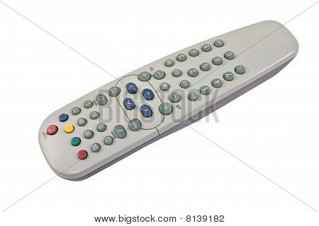 Remote Control On The White
