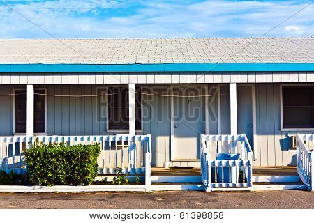 MIAMI, USA - June 4, 2013: generic motel in the outer banks USA