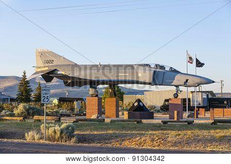 Phantom F4 Fighter at Veterans Memorial