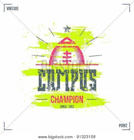 Rugby Campus Team Emblem