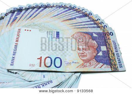 Malaysia RM100 Notes