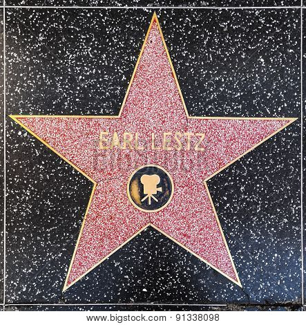 Earl Lestz Star On Hollywood Walk Of Fame
