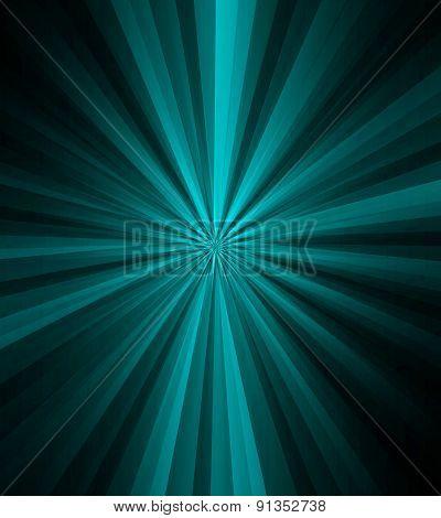 Beam rays blue dark background