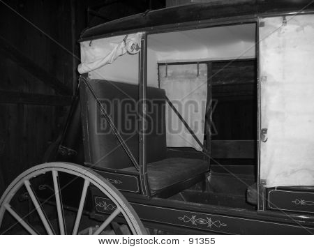 old stage coach at old shasta poster