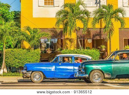 Old American in Havana, Cuba