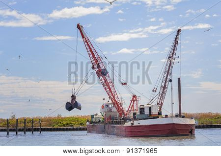 Dredger Ship Navy