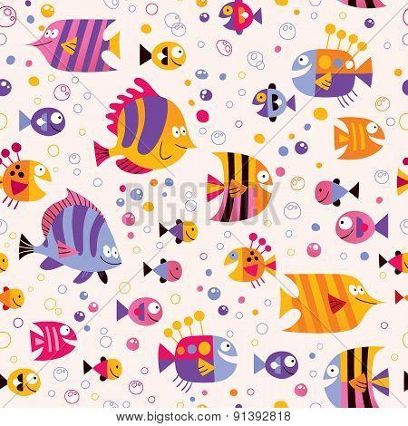 fish sea pattern