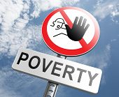 stop poverty give and donate to charity help the poor poster