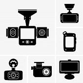 Set of six Car navigators & DVRs poster