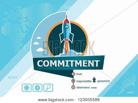 Commitment  Concepts For Business Analysis, Planning, Consulting, Team Work