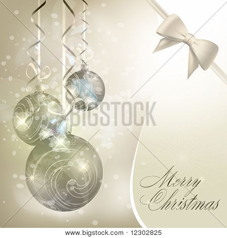 Abstract merry christmas background. Vector eps10 illustration poster
