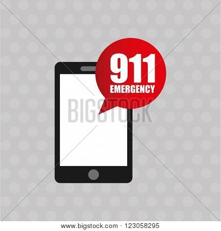 emergency service design, vector illustration eps10 graphic