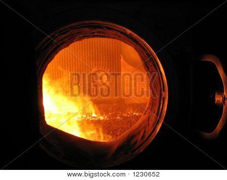 Fire In Blast Furnace