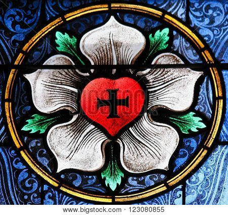 Sacred Heart - Stained Glass