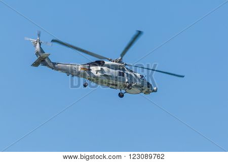 Helicopter Sh-60B Seahawk