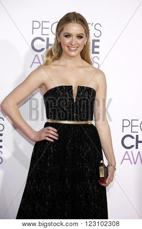 Greer Grammer at the 41st Annual People's Choice Awards held at the Nokia L.A. Live Theatre in Los Angeles on January 7, 2015.