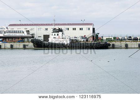 The Ship At The Mooring
