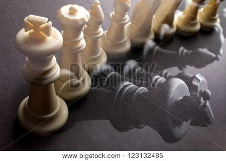 row chessmen Multiple chess background image illustration
