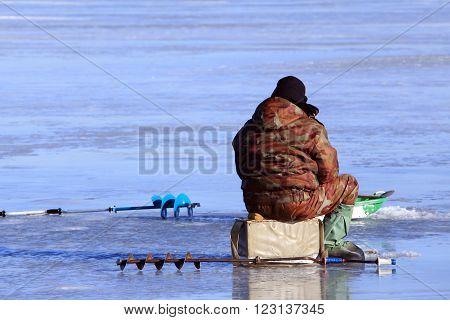 Fishermen On The Ice