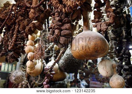 Middle East Syria Damaskus Old Town Souq Market