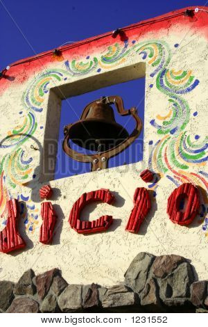 Art On Mexican House