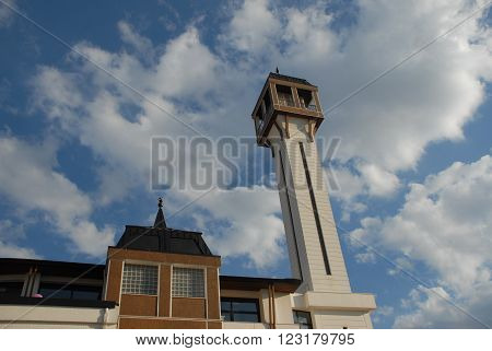 ANKARA, TURKEY-APRIL 23, 2012: Capital City of Ankara's sample of modern architecture