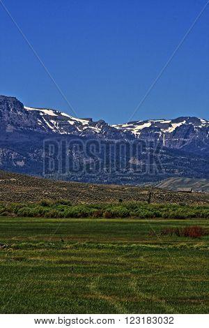 Dubois Wyoming Absaroka Mountains
