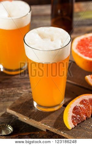 Sour Grapefruit Craft Beer Ready to Drink poster