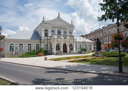 RADOM, POLAND - JULY 4, 2009: The Art and Cultural Center