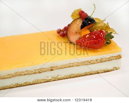 Cake Fruit With Cream