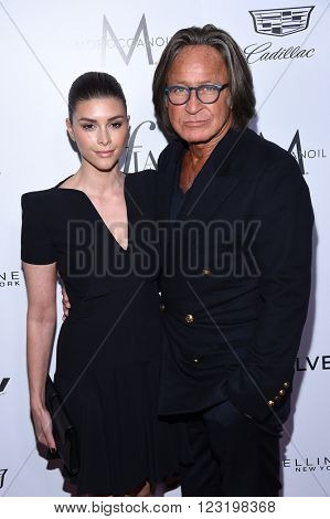 LOS ANGELES - MAR 20:  Mohamed Hadid & Shiva Safai arrives to the 2nd Annual Fashion Los Angeles Awards  on March 20, 2016 in Hollywood, CA.