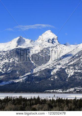 Buck Mountain in the Grand Teton Mountain Range